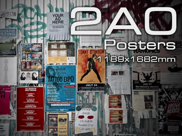2A0 Poster Printing Nottingham - 2A0 Posters at Cycle Printworks