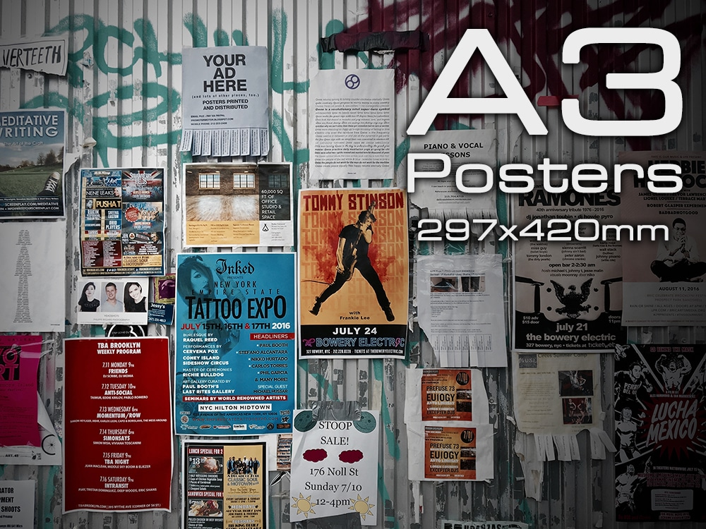 A3 Poster Printing Nottingham - A3 Posters at Cycle Printworks