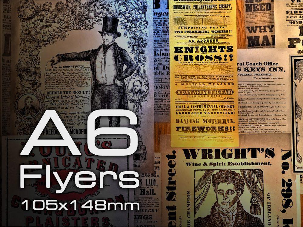 A6 Flyers & Leaflets Nottingham Printing