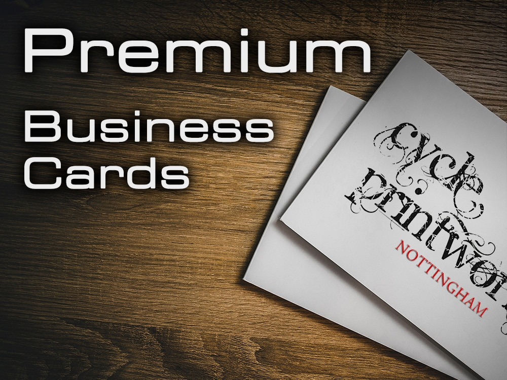 Business Cards - Premium | Cycle Printworks Nottingham