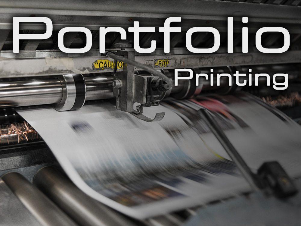 Portfolio Printing - A2, A1, A0 Printing Nottingham