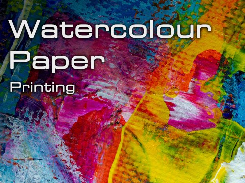 Water Colour Printing - Cycle Printworks Nottingham